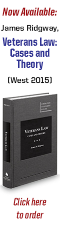 Click here to purchase <em>Veterans Law: Cases &amp; History</em>